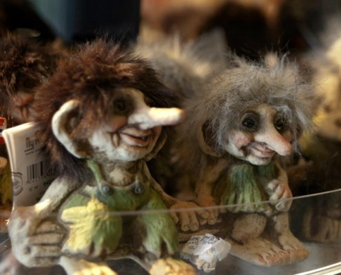 Tracking Trolls New Challenges from the Folklore Macroscope