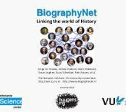 New trends in eHumanities - BiographyNet -historical queries text analysis and visualization