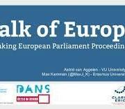 Debates of the European Parliament as LOD