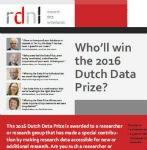 Nieuws over de Nederlandse Dataprijs 2016